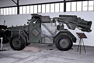 Malkara (missile) - Malkara-equipped Humber Hornet vehicle