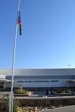 Hosea Kutako International Airport in Windhoek.JPG