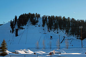 Howelsen Hill Ski Area - The ski area in March 2011