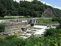 Hozumi Power Station weir 1.jpg