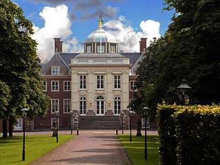 Huis ten Bosch palace palace in The Hague