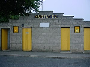 Christie Park, Huntly - Outside Christie Park, Huntly (2006)