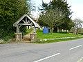Hurstbourne Tarrant - Lych Gate Of St Peters Church - geograph.org.uk - 770339.jpg