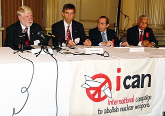 International Campaign to Abolish Nuclear Weapons - Launch of the ICAN in Melbourne, Australia, in 2007.