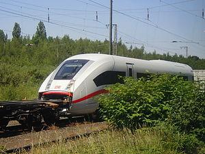 ICE 4 (Deutsche Bahn) - ICx 9004 end car en route to Wegberg-Wildenrath test center