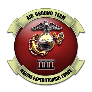 III Marine Expeditionary Force formation of the Marine Air-Ground Task Force of the United States Marine Corps