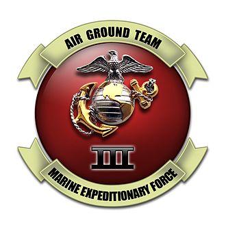 III Marine Expeditionary Force - III Marine Expeditionary Force insignia
