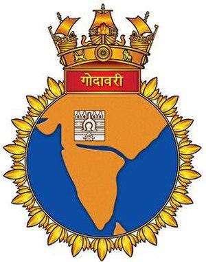 INS Godavari (F20) - Seal of INS Godavari