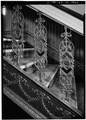 INTERIOR, DETAIL OF MAIN STAIR BALUSTERS - Clinton County Courthouse, Courthouse Square, Clinton, Clinton County, IA HABS IOWA,23-CLINT,3-7.tif