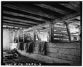 INTERIOR OF BARN - Stone Barn, U.S. Route 202 vicinity, Doylestown, Bucks County, PA HABS PA,9-DOYLT.V,2A-3.tif