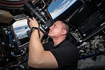 ISS-45 Kjell Lindgren takes images of the Earth in the Cupola.jpg