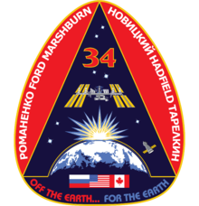 Description de l'image  ISS Expedition 34 Patch.png.