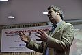Iain Simpson Stewart - Lecture on Communicating Geoscience through the Popular Media - NCSM - Kolkata 2016-01-25 9411.JPG