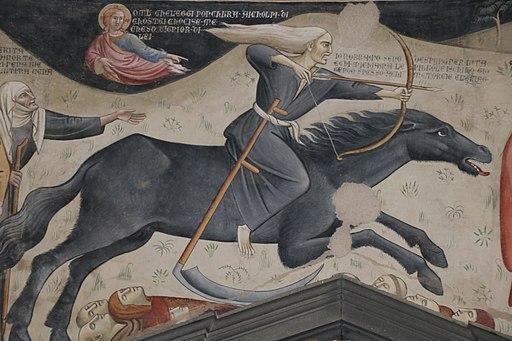 Il trionfo della morte di Bartolo di Fredi (1360 ca.)