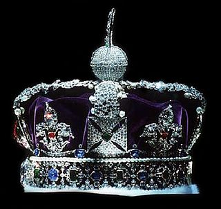 a crown used for the coronation of emperors