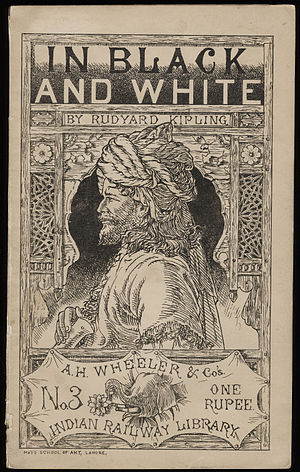 In Black and White (short story collection) - Published in Allahabad in 1888