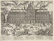Incendio Ayuntamiento Amberes