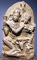 India del nord, coppia divina shiva e parvati, VIII-XI sec..JPG