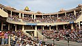 Indian Wagah Attari border arena -Wagah -Punjab -20190605 172115.jpg
