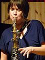 Ingrid Laubrock (Annamarie Ursula) (Loft 121208) P1060638.jpg
