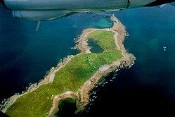 Inishsirrer - NW half of the island looking northwest - geograph.org.uk - 1350643.jpg