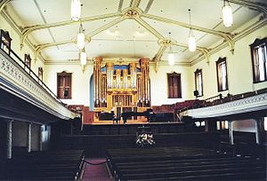 Salt Lake Assembly Hall - Inside Assembly Hall