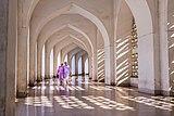 Inside view of Baitul Mukarram National Mosque.jpg