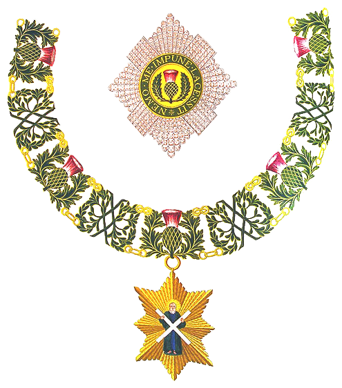 Insignia of Knight of the Thistle