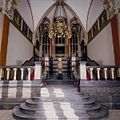 Interieur, bel-etage, achterzijde rechts (Vestibule van de wachtkamer eerste klasse), interieur, Hal met laat negentiende eeuwse muurschilderingen - Amsterdam - 20392773 - RCE.jpg