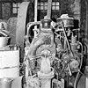 interieur, dieselmotor merk deutz in een tegen de molen gebouwde machinekamer, molen stond tot 1897 in zaandam-oost onder de naam de bootsman - oosterblokker - 20036356 - rce