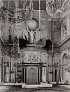 interieur paleis- grote burgerzaal met atlas - amsterdam - 20321214 - rce