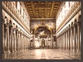 Interior of St. Paul's, Rome, Italy-LCCN2001700953.tif