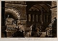 Interior of a mausoleum. Aquatint with engraving by Francesc Wellcome V0042411.jpg