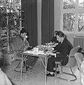 Internationaal Schaaktoernooi in Zevenaar. Langeweg en B. Milic, Bestanddeelnr 913-1233.jpg