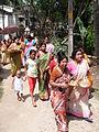 Inviting Goddess Ganga - Hindu Sacred Thread Ceremony - Simurali 2009-04-05 4050083.JPG