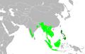 Irenidae distribution.PNG
