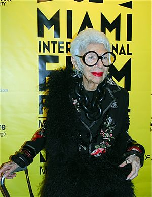 Iris Apfel - Apfel at O Cinema Miami Beach to present IRIS