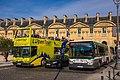 Irisbus Citélis 18 1657 RATP et Volvo B10M 07 SELT, lignes 95 et navette verte, Paris.jpg