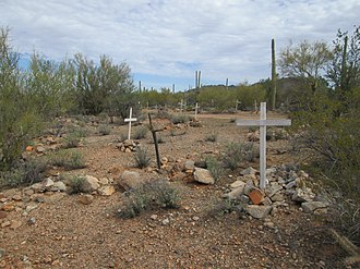 Ironwood Forest National Monument - Image: Ironwood Forest National Monument Silverbell Cemetery Arizona 2014