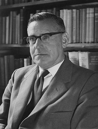 Isaac Schapera - Image: Isaac Schapera, c 1950s