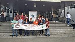 Italian mappers at Sotm 2019 (Heidelberg).jpg