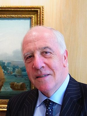 Ivor Roberts (diplomat) - Sir Ivor in London, November 2011