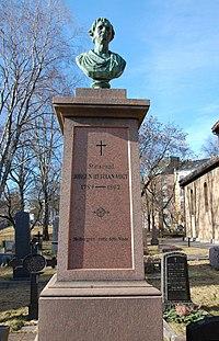 Jørgen Herman Vogt, gravminne på Gamle Aker kirkegård, Oslo, DSC 3696.JPG
