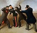 J.Reiner - Attentat auf Kaiser Franz Joseph (cropped).jpg