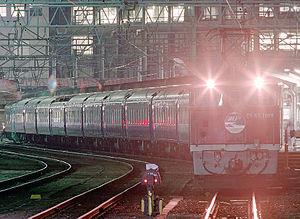 Sunrise Seto - Locomotive-hauled Seto service, October 1995