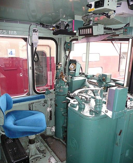 JNR EF65 1118-cab
