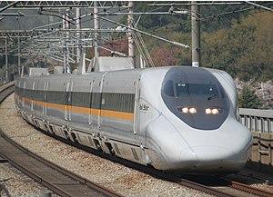 Hikari (train) - 700 series Hikari Rail Star, April 2009