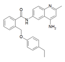 Chemical structure of JTC-801.