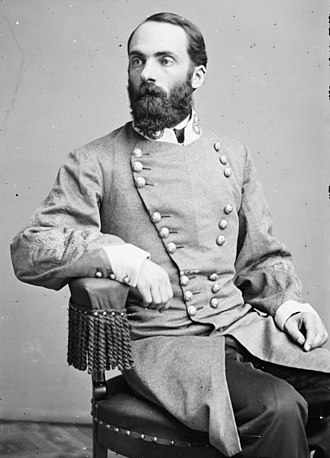 Joseph Wheeler - Wheeler dressed as a Confederate general in the 1860s