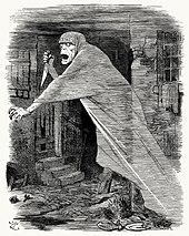 Fantom ohánějící se nožem se vznáší ve slumové ulici